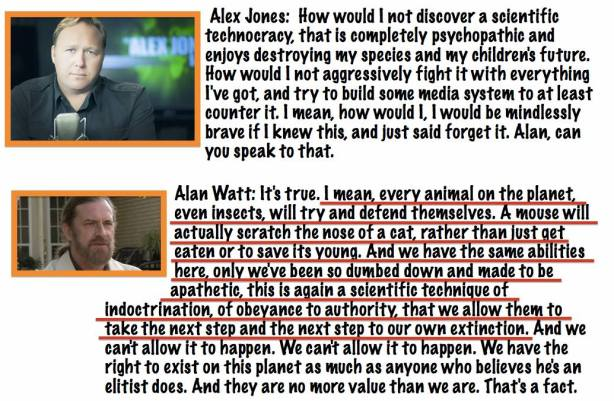 Alex Jones with Alan Watt